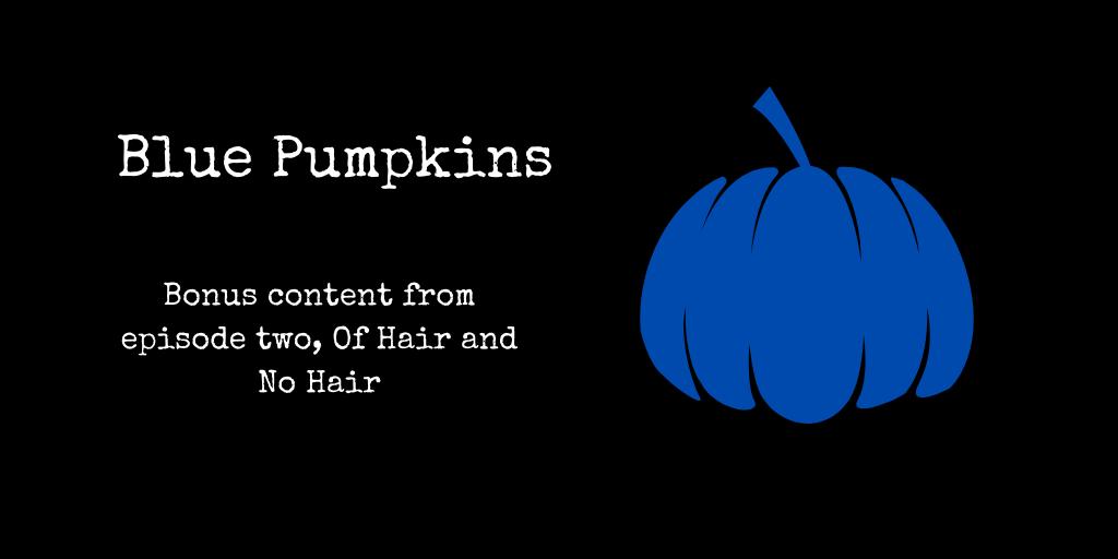 blue pumpkins
