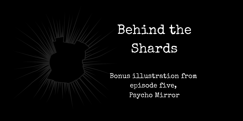 behind the shards